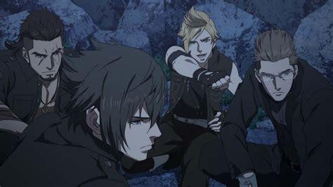 film fantasy anime final fantasy xv une date un anime et un film