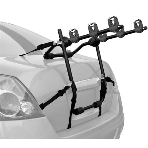 trunk mounted bike rack in car bike racks