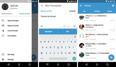 Search On Venmo Venmo Vs Wallet Send Money To Friends Easily