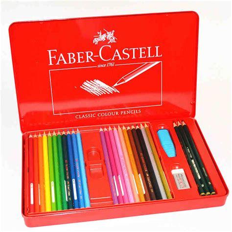 Faber Castell Classic Colour Pencils 36 Pcs 48pcs set faber castell classic colour pencils fashion pastille colored pencil for painting