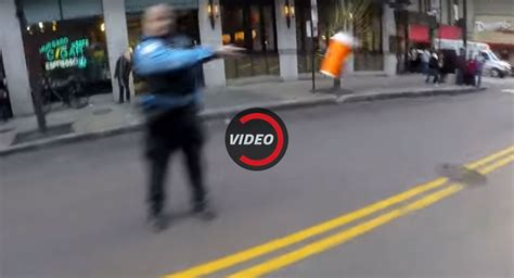Chicago Officer by Chicago Cop Being Investigated After Throwing Coffee On Biker