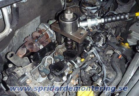 Tas Motor T23 demontering av dieselspridare samt gl 246 dstift alla