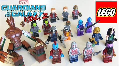 Lego Guardian Of Galaxy 3 all lego guardians of the galaxy minifigures