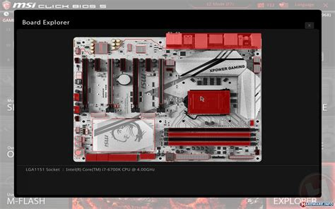 reset bios z170a msi z170a xpower gaming titanium review