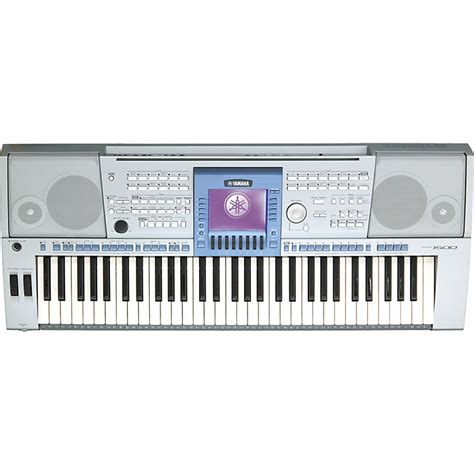 Lcd Keyboard Yamaha Psr 1500 yamaha psr 1500 61 key arranger workstation musician s