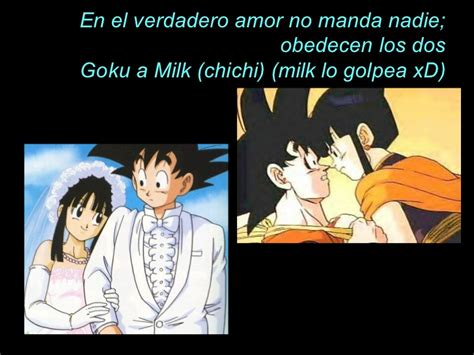 imagenes de goku con frases romanticas frases de amor a la anime