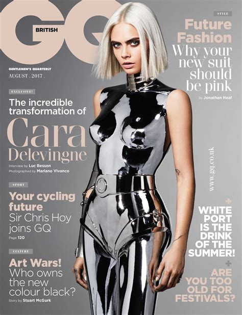 delevingne gq uk august  poppaganda