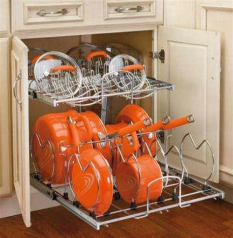 Pots And Pans Storage Pot And Pan Storage House