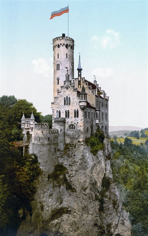 cliff castles and cave dwellings of europe classic reprint books car lichtenstein castle baden w 252 rttemberg germany