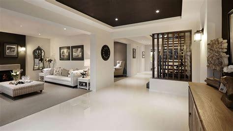 visualization  family house  cream color interior