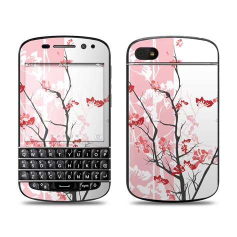 pink themes for blackberry q10 pink tranquility blackberry q10 skin covers blackberry
