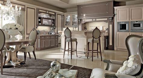 martini arredamenti cucina beige e marrone con bancone martini mobili