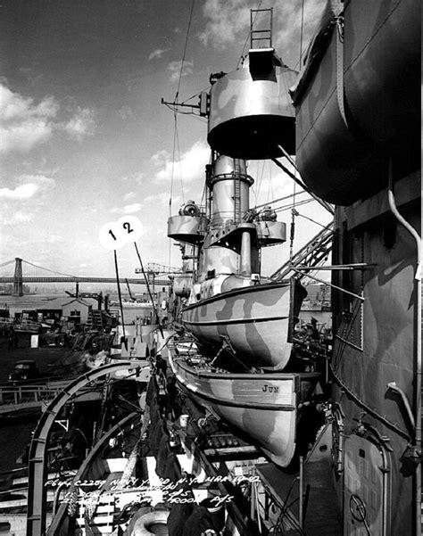 boat storage juneau cruiser photo index cl 52 uss juneau navsource
