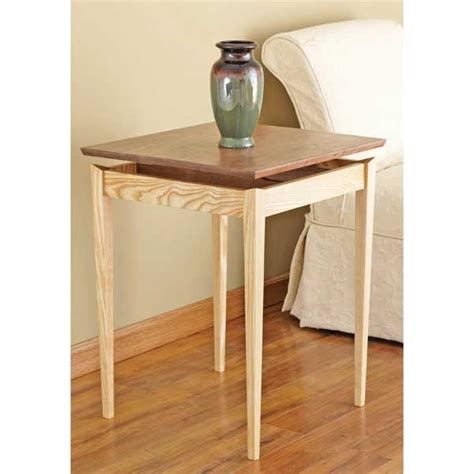 floating bench plans floating top table woodworking plan from wood magazine