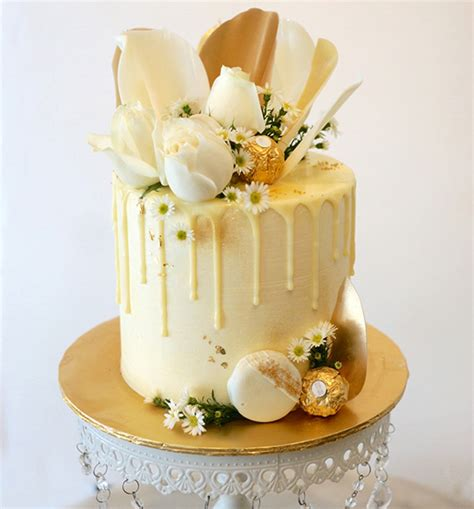 white and gold l gold white collins cakery cafe
