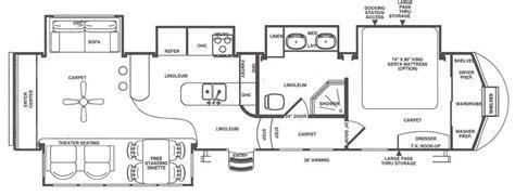 rear kitchen rv floor plans 1000 ideas about cer dealers on pinterest rv