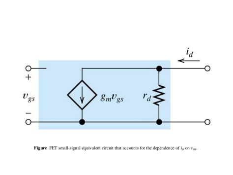 fet transistor small signal model fet basics 1