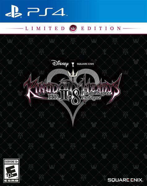 Ps4 Kingdom Hearts Hd 2 8 Chapter Prologue R2 Reg 2 kingdom hearts hd 2 8 chapter prologue limited edition release date ps4