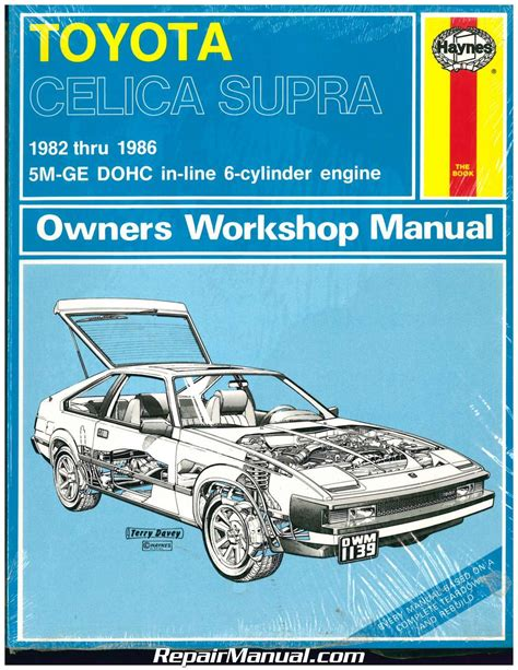 haynes toyota celica supra 1982 1986 auto repair manual