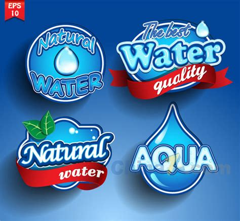 water label design vector the fine mineral water label vector design download psd