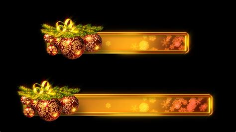 christmas  thirds  stock video footage synthetick