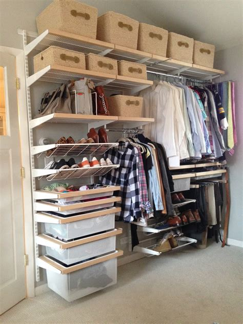 what is the best closet organizing system trendy closet
