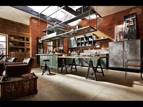 world s most beautiful industrial kitchen designs youtube