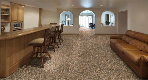 Inexpensive Basement Flooring Ideas Cheap Basement Flooring Ideas Robinson House Decor