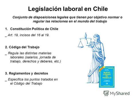 codigo del trabajo chile edicion 2001 презентация на тему quot el empleo en chile poblaci 243 n