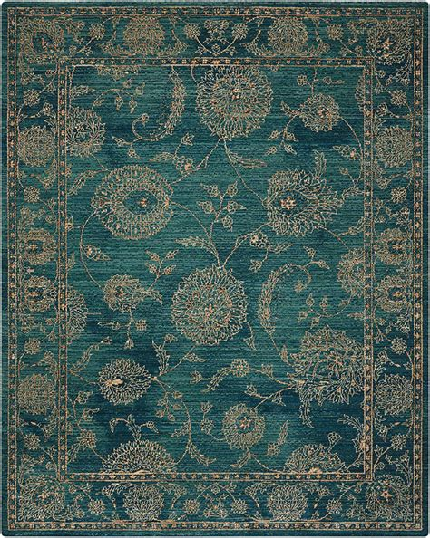 carpet into a rug nourison 2020 nr202 teal area rug carpetmart