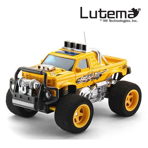 of remote trucks lutema blaze truck 4ch remote truck yellow cad