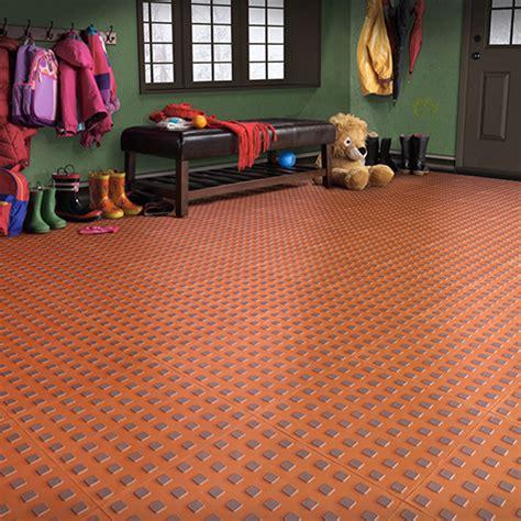 Weathertech Garage Floor Tiles by Techfloor Premium Flow Thru Garage Floor Tile Traction Tiles