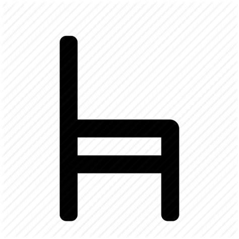 chair icon icon search engine - Stuhl Piktogramm