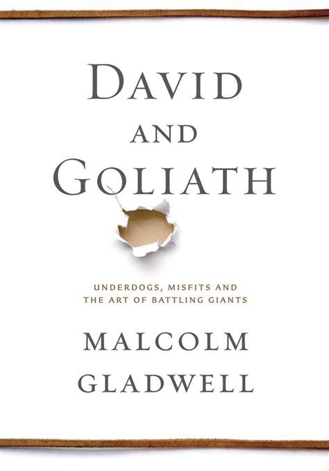 audiobook david and goliath underdogs misfits and the malcolm gladwell david and goliath underdogs misfits