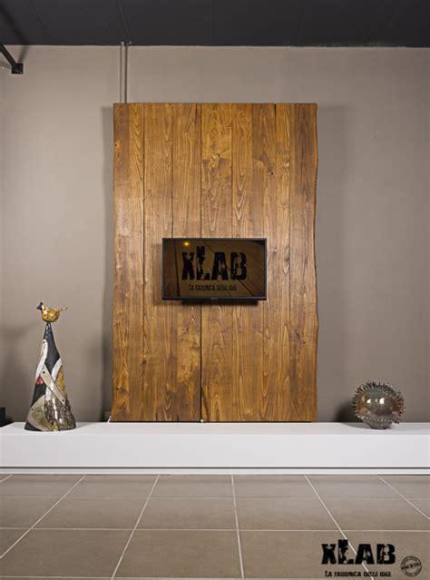 mobile porta tv da parete mobile porta tv a parete legno rustico wonderwall xlab