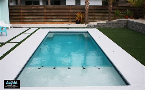 contemporary pools modern pool with deck jets all aqua pools