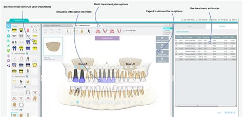 dental treatment plan presentation template image