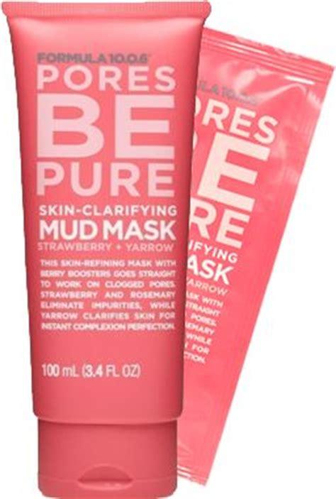 Sephora Pore Clarifying Mask formula 10 0 6 pores be skin clarifying mud mask