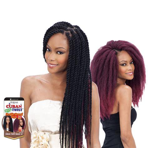 is equal cuban twist hair 100 kanekelon freetress equal havana double strand style cuban