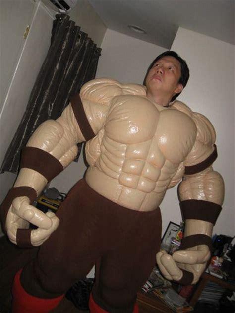 latex armor tutorial looks like juggernaught muscle suit pinterest