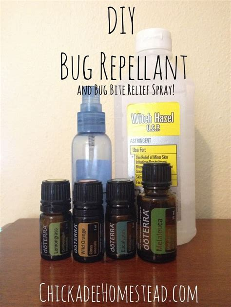 diy insect spray diy bug spray health tips