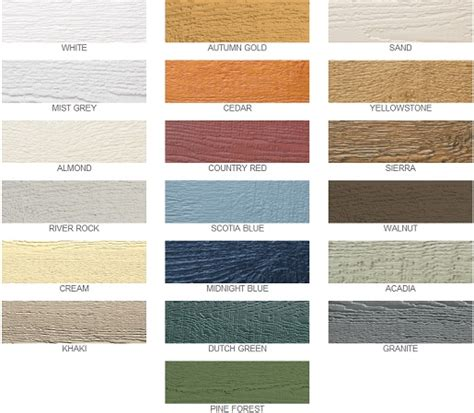 lp smartside prefinished colors exterior