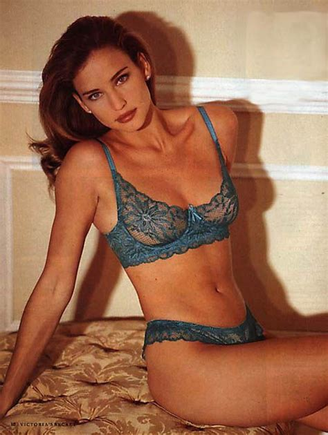 1980 wife matching bra and panties victoria s secret early 90smodel jill goodacre aka mrs