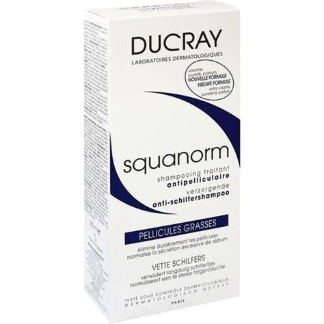 schüssler salze schuppen ducray squanorm fettige schuppen shoo 200 ml