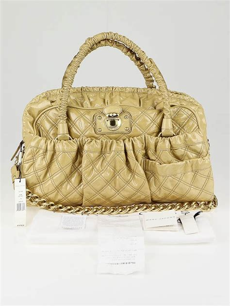 Marc Quilted Bowling Bag by Marc Quilted Patent Leather Julianne Bowler