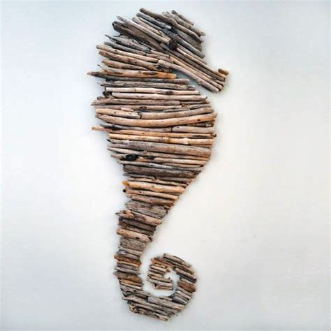 How To Make A Seahorse Out Of A Paper Plate - 25 best ideas about driftwood seahorse on