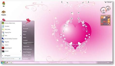 valentine themes for windows 10 windows 7 theme for valentines day