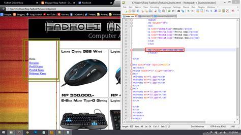 cara membuat online shop kpop membuat online shop sederhana menggunakan html a369i tips