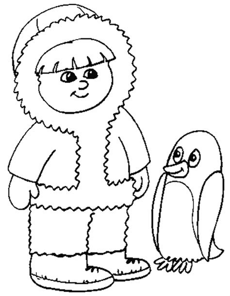 antarctica coloring sheets coloring pages