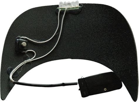 hats with lights in visor custom led light baseball hats decorated with your